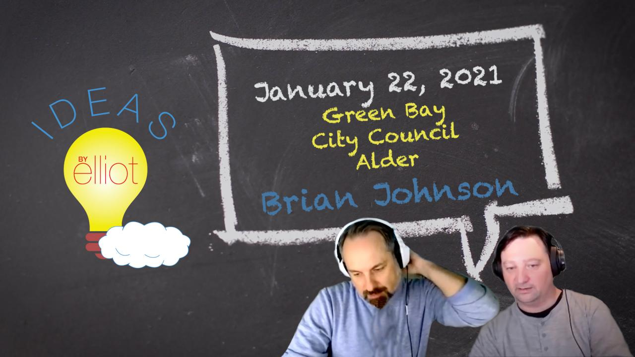 Green Bay City Council Alder Brian Johnson