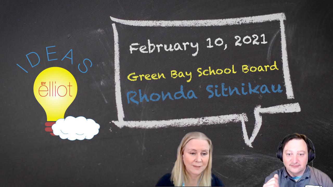 "Green Bay School Board Member Rhonda Sitnikau on the ""Opening Question"""