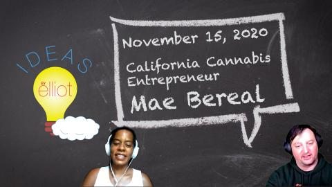 California CBD Entrepreneur Mae Bereal CEO of LAV8 CBD