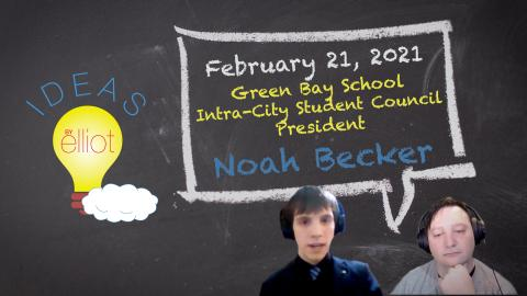 Back to School Special with Green Bay's Intra-City Student Council President Noah Becker